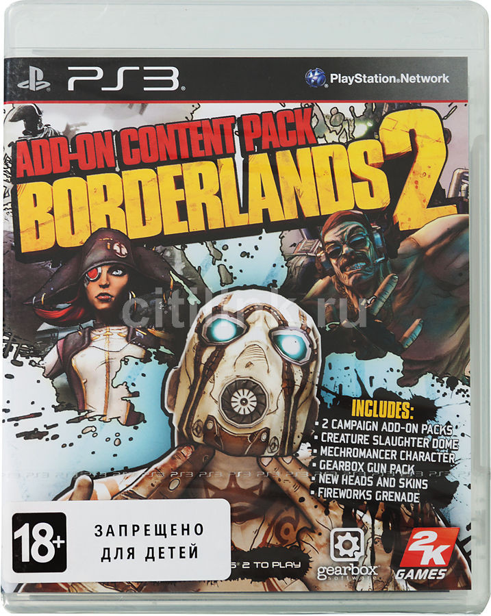 Игра SONY Borderlands 2 Add-On Content Pack для  PlayStation3 Eng
