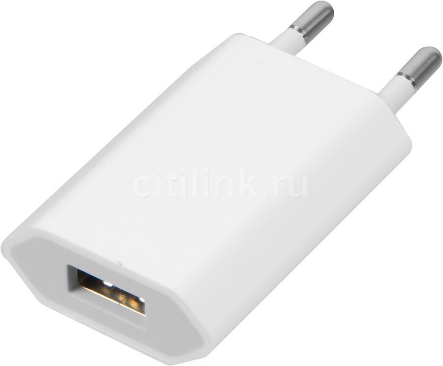 Сетевое зарядное устройство APPLE MD813ZM/A,  USB,  белый