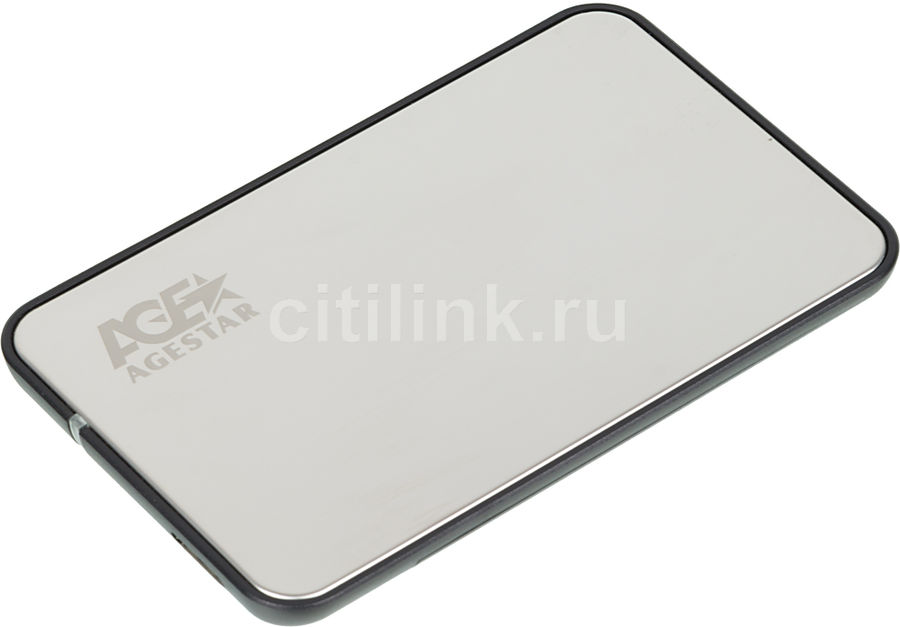 Внешний корпус для  HDD/SSD AGESTAR 3UB2A8S-6G, серебристый
