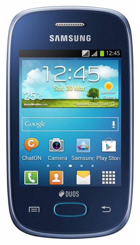 Смартфон SAMSUNG Galaxy Pocket Neo GT-S5312  черный/синий