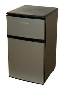 Холодильник SHIVAKI SHRF-90DP,  двухкамерный,  серебристый