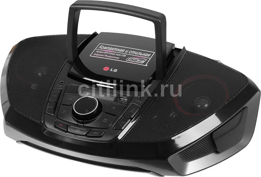 Аудиомагнитола LG SB36,  черный