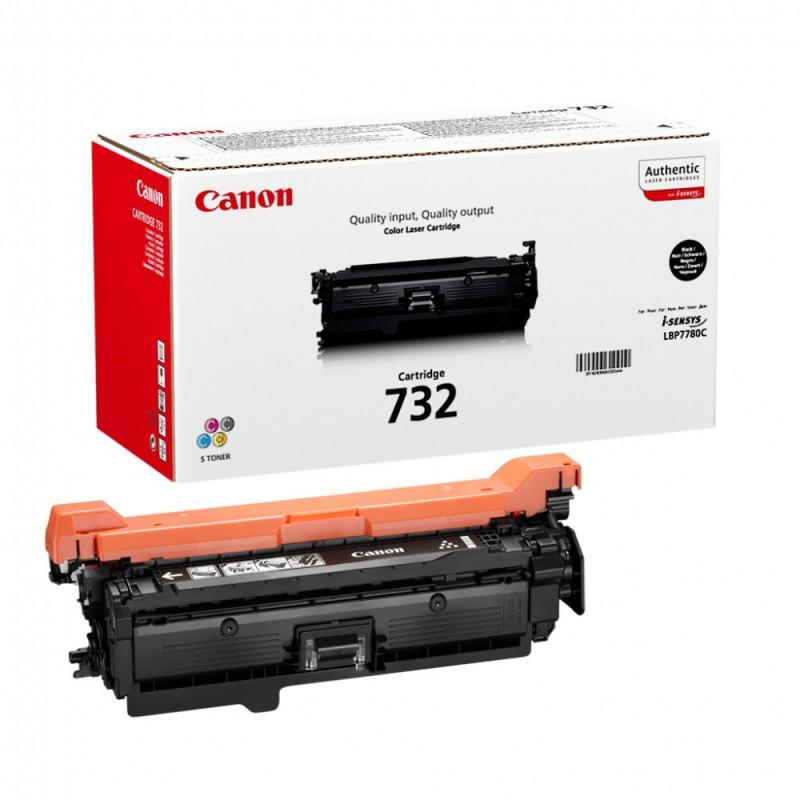 Картридж CANON 732BK 6263B002,  черный