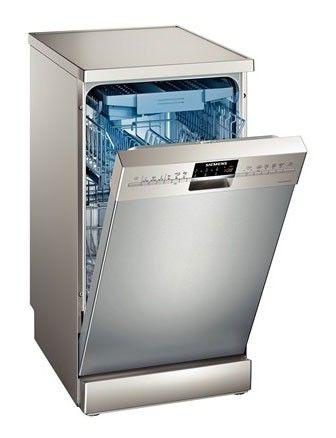 Посудомоечная машина SIEMENS SR26T897RU,  узкая, серебристая