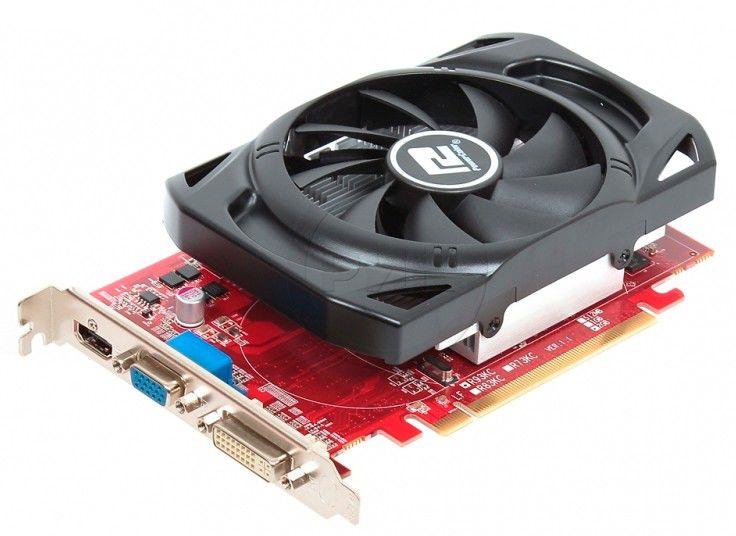 Видеокарта Power Color PCI-E ATI AX7670 1GBK3-H AX7670 1G D3 800/1334 DVI/VGA/HDMI OEM