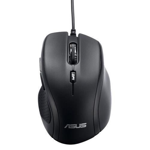 Мышь ASUS UX300, оптическая, проводная, USB, черный [90-xb2p00mu00000]