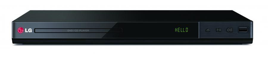 DVD-плеер LG DP432,  черный