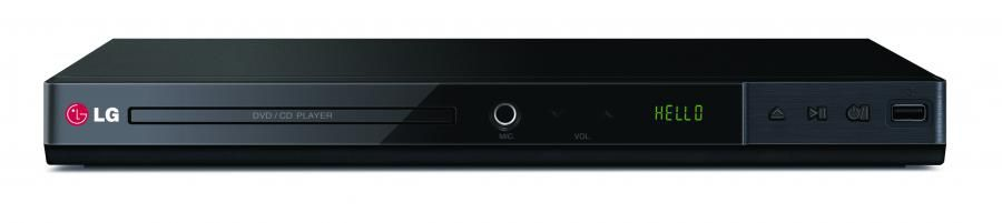 DVD-плеер LG DP437H,  черный