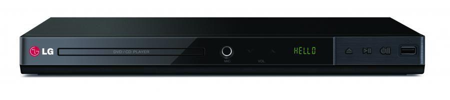 DVD-плеер LG DP437,  черный