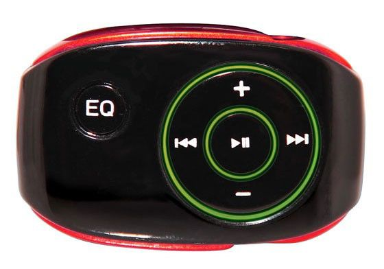 MP3 плеер RITMIX RF-2250 flash 8Гб красный
