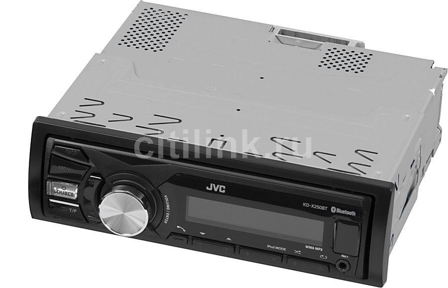 Автомагнитола JVC KD-X250BTEE,  USB