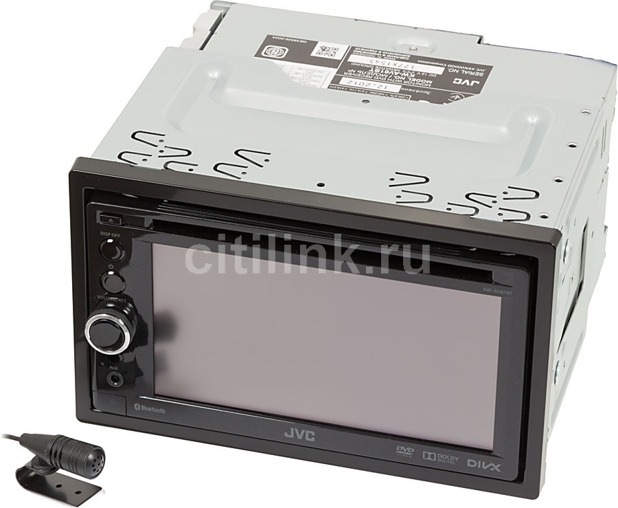 Автомагнитола JVC KW-AV61BTEE,  USB