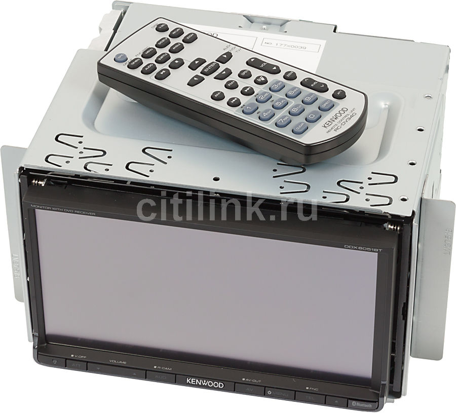 Автомагнитола KENWOOD DDX-6051BT,  USB