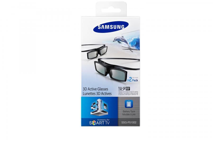 Очки 3D SAMSUNG SSG-P51002,  2 шт,  серый [ssg-p51002/ru]