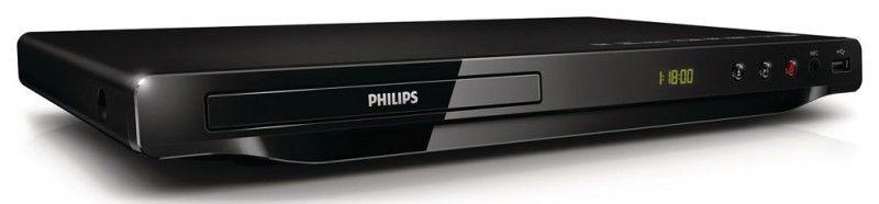 DVD-плеер PHILIPS DVP3680K/51,  черный
