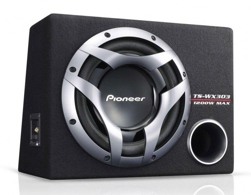Сабвуфер автомобильный PIONEER TS-WX303,  пассивный,  1200Вт