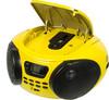 Аудиомагнитола BBK BX107U,  желтый и черный вид 2