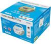 Аудиомагнитола BBK BX108U,  голубой и серебристый вид 15