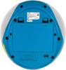 Аудиомагнитола BBK BX108U,  голубой и серебристый вид 7