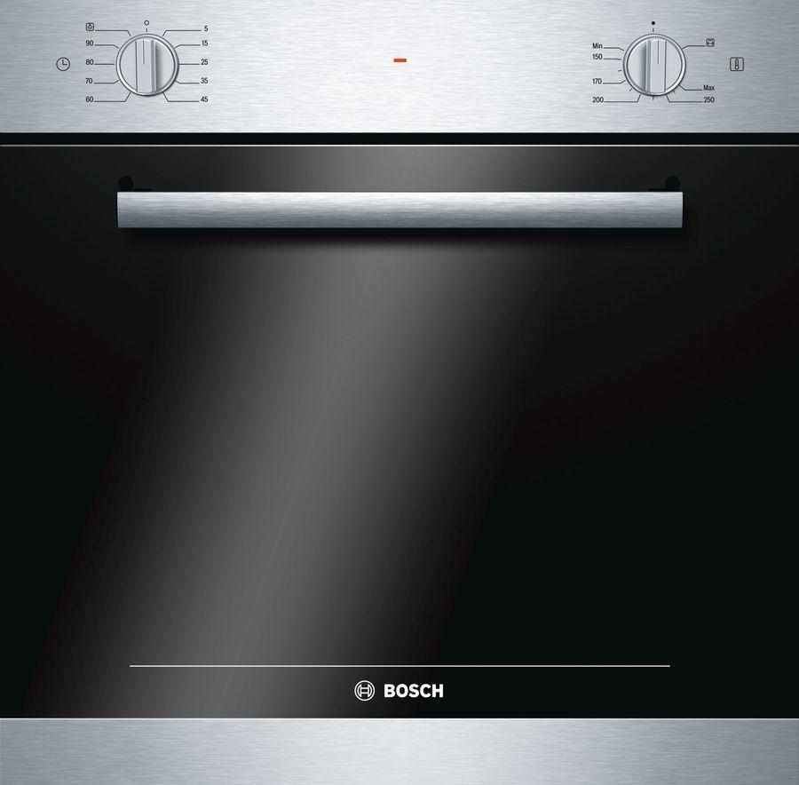 Духовой шкаф BOSCH HGN10E050,  серебристый