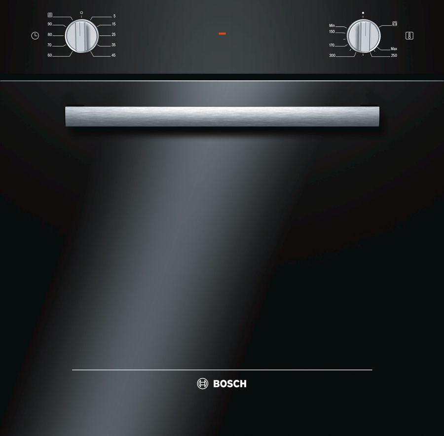 Духовой шкаф BOSCH HGN10E060,  черный