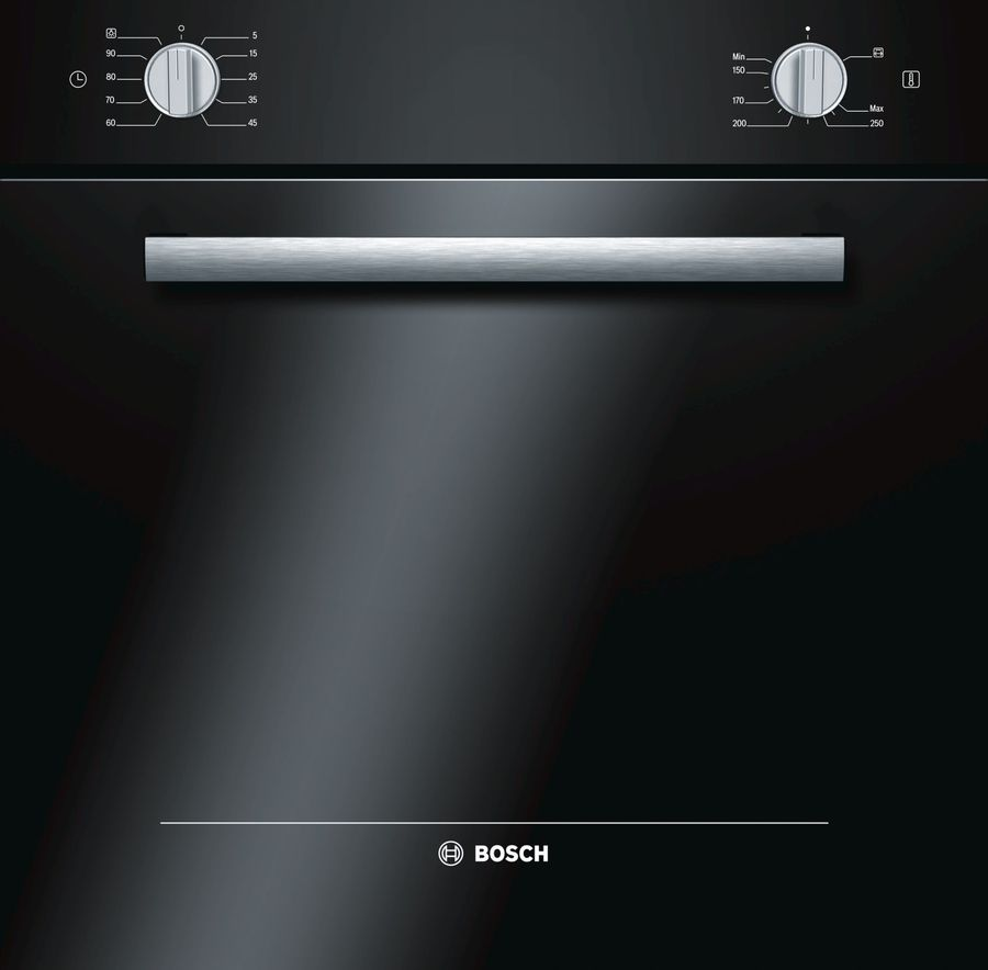 Духовой шкаф BOSCH HGN10G060,  черный