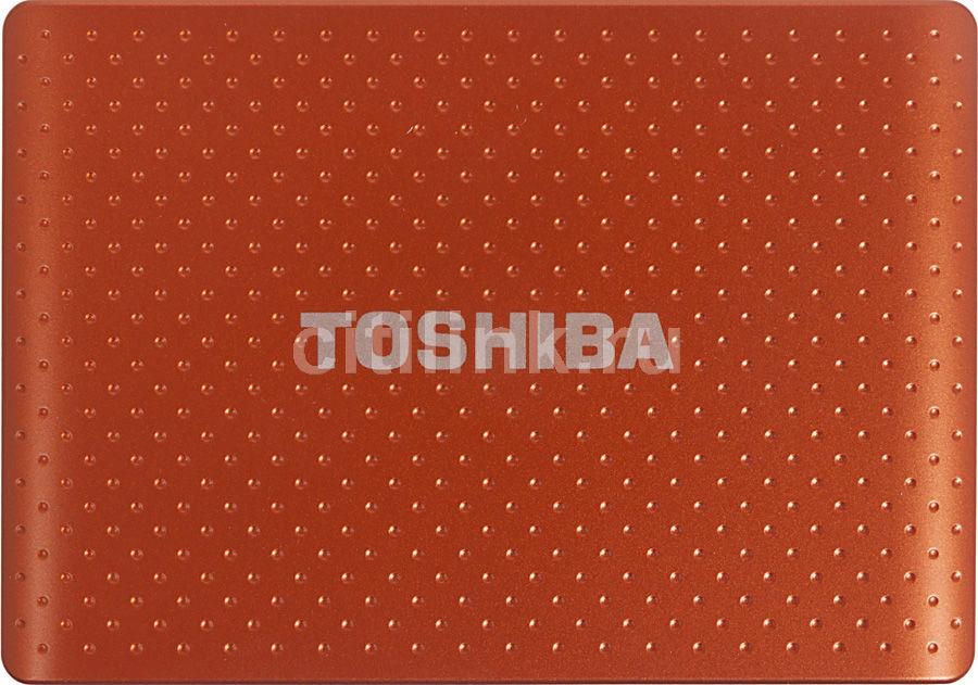 Внешний жесткий диск TOSHIBA STOR.E PARTNER PA4279E-1HG5, 750Гб, оранжевый