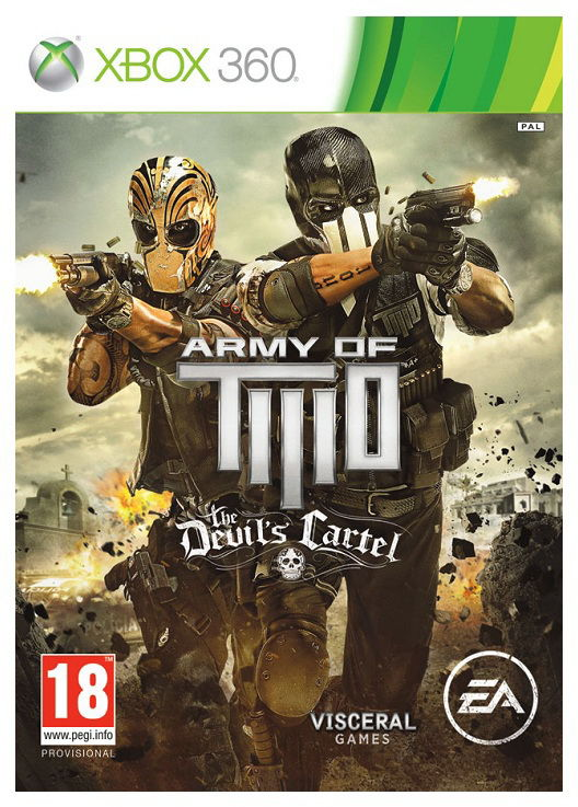 Игра SOFT CLUB Army of Two: The Devils Cartel для  Xbox360 Eng