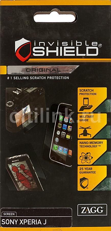 Защитная пленка ZAGG InvisibleSHIELD  для Sony Xperia J,  прозрачная, 1 шт [sonxperjeus]