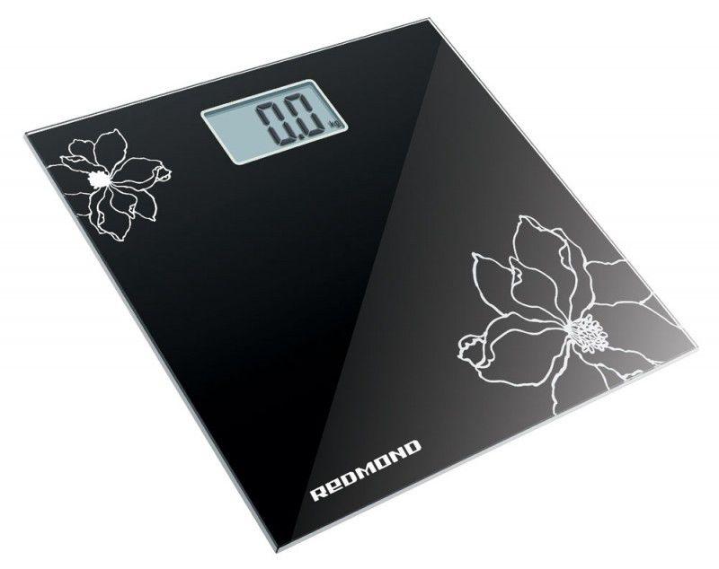 Напольные весы REDMOND RS-708, до 150кг, цвет: черный