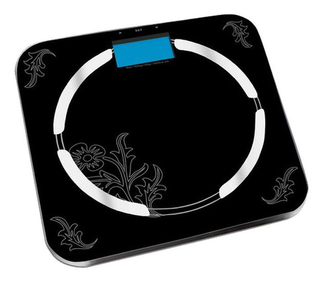 Весы REDMOND RS-713, до 150кг, цвет: черный