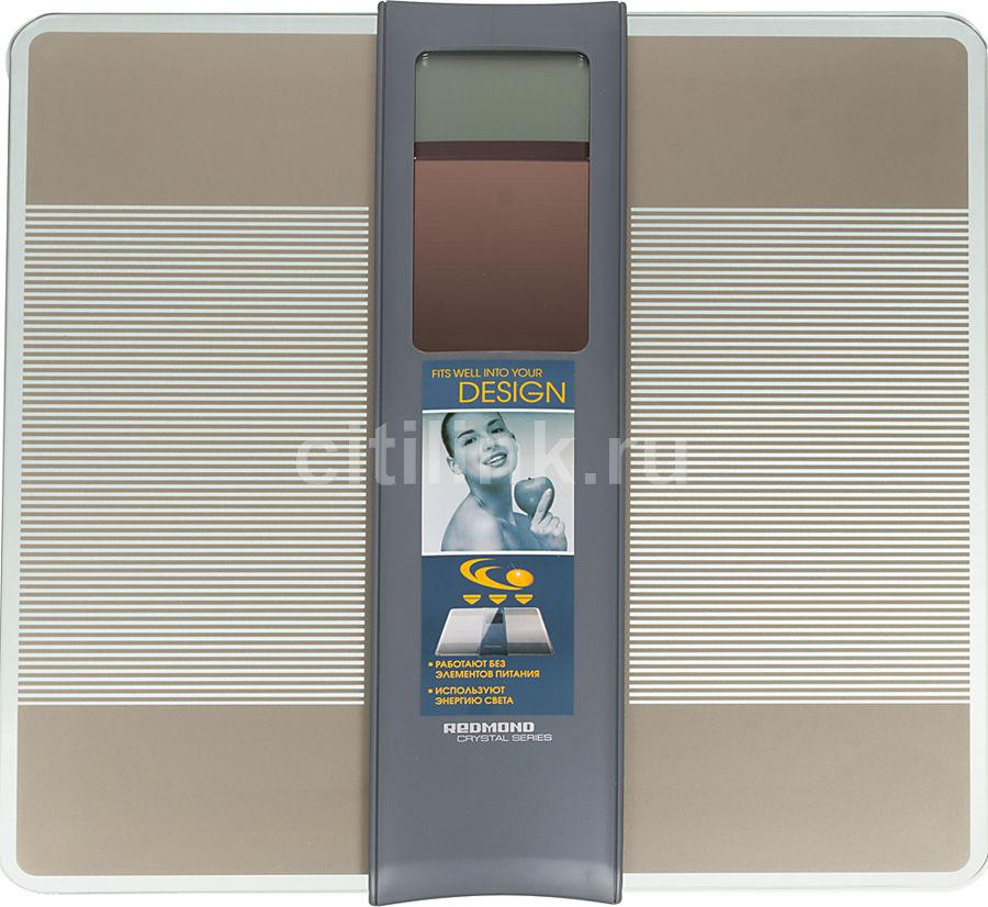 Напольные весы REDMOND RS-719, до 150кг, цвет: серый