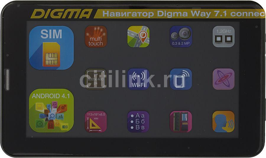 GPS навигатор DIGMA Way 7.1 connect,  7