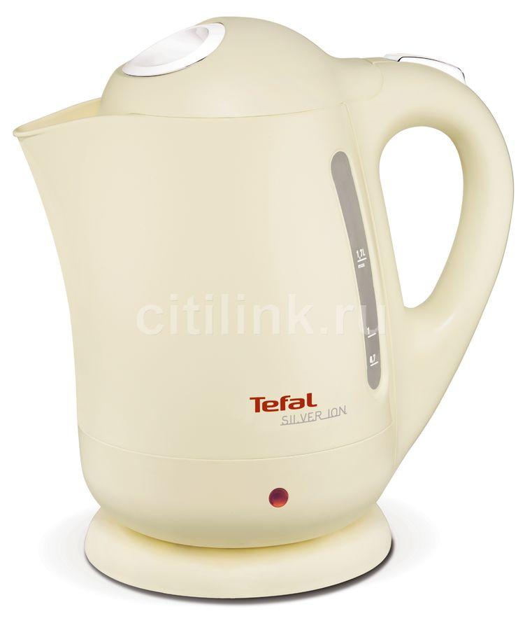 Чайник электрический TEFAL BF925232, 2400Вт, песочный
