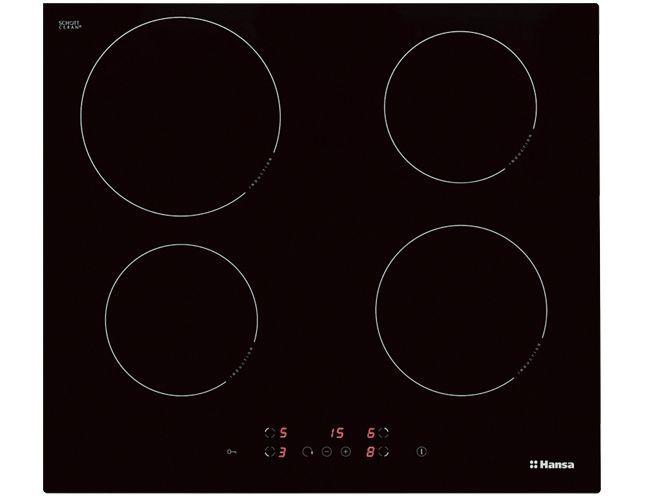 Варочная поверхность HANSA BHI 68300,  индукционная,  независимая,  черный