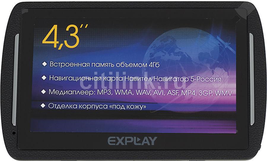 GPS навигатор EXPLAY SLK4,  4.3