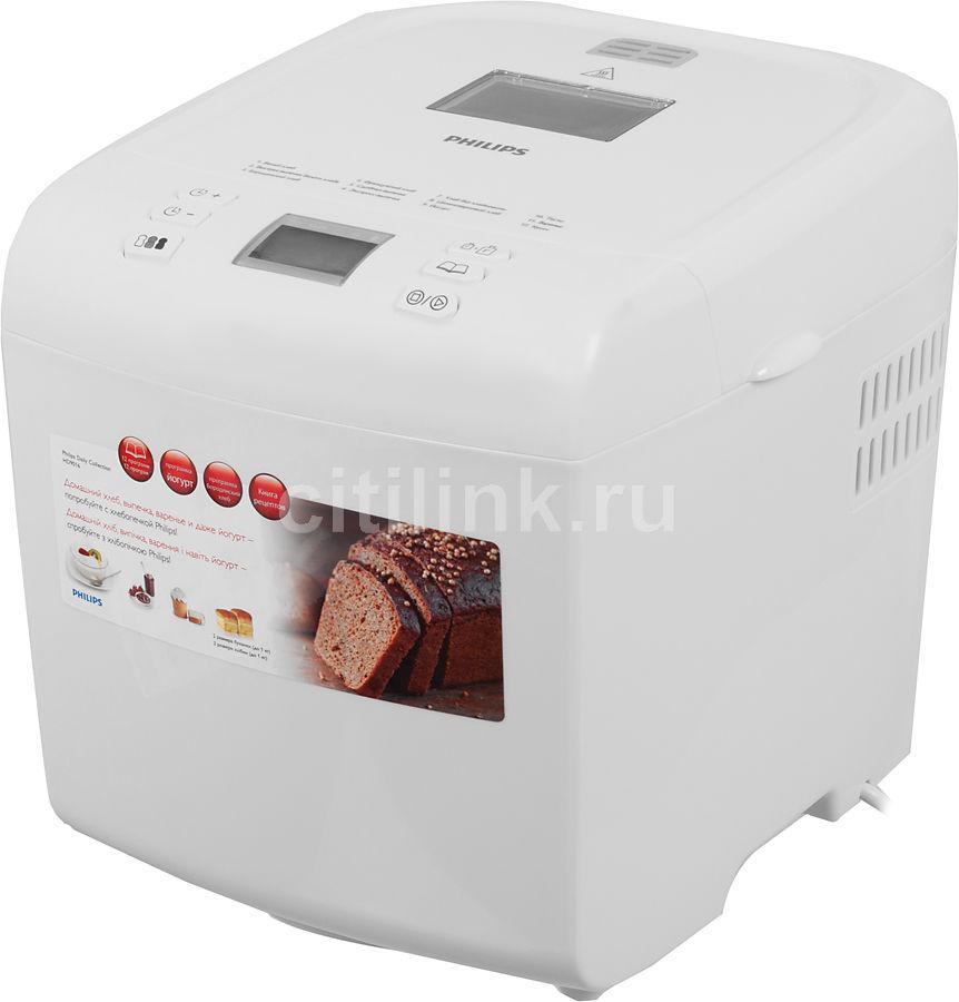 Хлебопечь PHILIPS HD9016/30,  белый