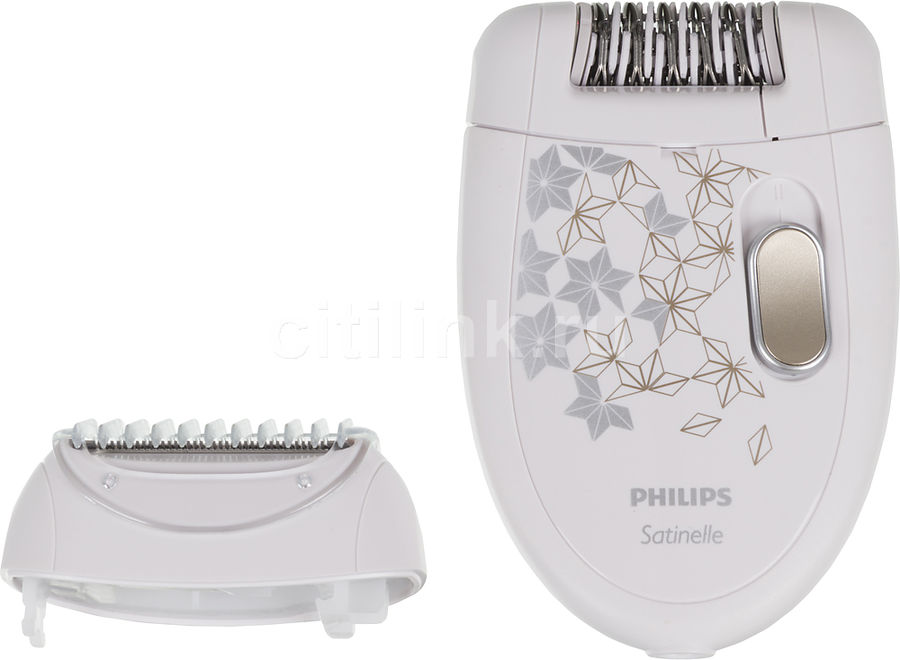 Эпилятор PHILIPS HP6423 белый [hp6423/00]