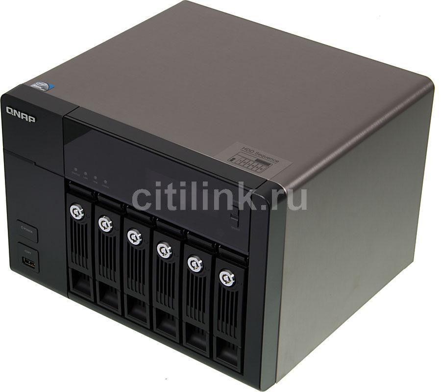 Сетевое хранилище QNAP TS-669 Pro,  без дисков