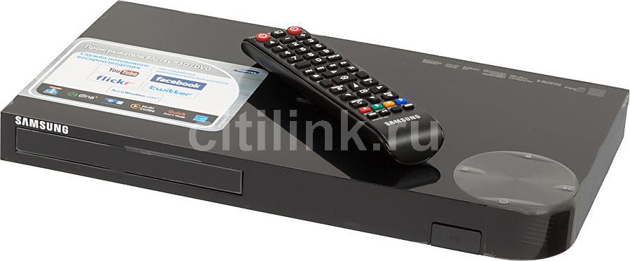 Плеер Blu-ray SAMSUNG BD-F5500, черный [bd-f5500/ru]