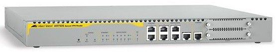 Роутер Allied Telesis (AT-AR750S-DP) Secure VPN Router, 7x 10/100 LAN / WAN, 1x Async, 2x PIC slot.