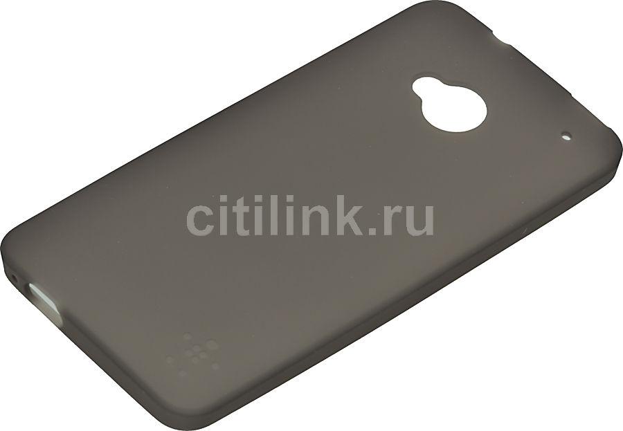 Чехол (клип-кейс) BELKIN F8M568vfC00, для HTC One, черный