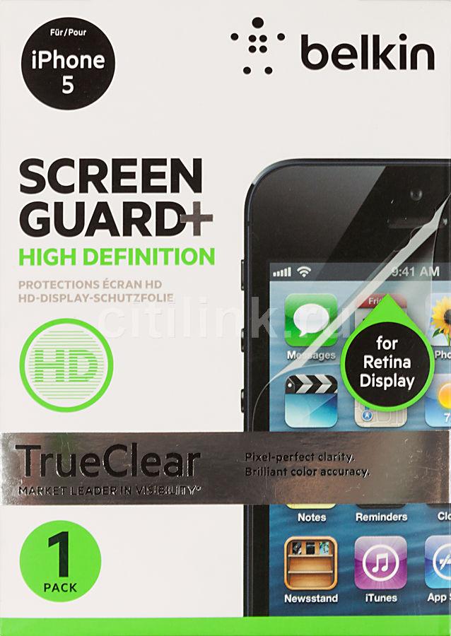 Защитная пленка BELKIN F8W182CW  для Apple iPhone 5,  1 шт
