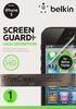 Защитная пленка BELKIN F8W182CW  для Apple iPhone 5,  1 шт вид 1