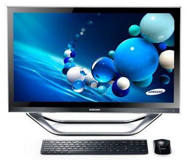 Моноблок SAMSUNG DP700A3D-A02, Intel Core i5 3470T, 4Гб, 750Гб, Intel HD Graphics 2500, Blu-Ray, Windows 8, черный и серебристый [dp700a3d-a02ru]