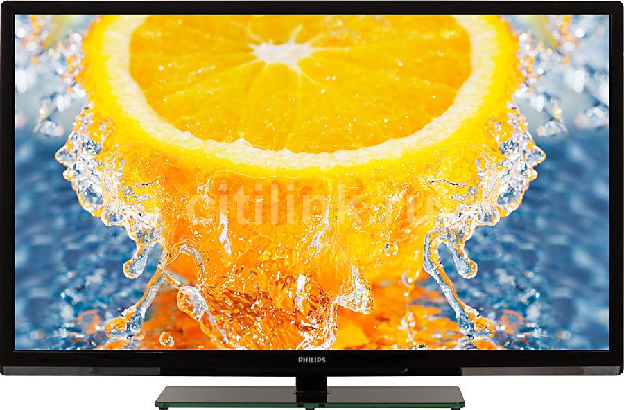 """LED телевизор PHILIPS 40PFL3108T/60  """"R"""", 40"""", FULL HD (1080p),  черный"""