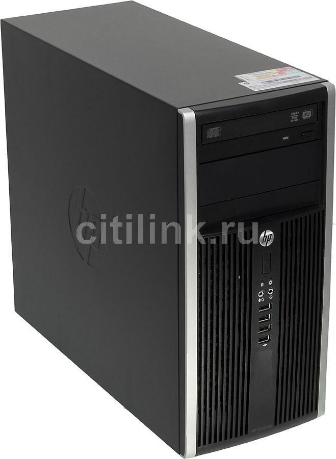 Компьютер  HP Pro 6300 MT,  Intel  Pentium  G2020,  DDR3 4Гб, 500Гб,  Intel HD Graphics,  DVD-RW,  Windows 7 Professional,  черный [h6w11es]