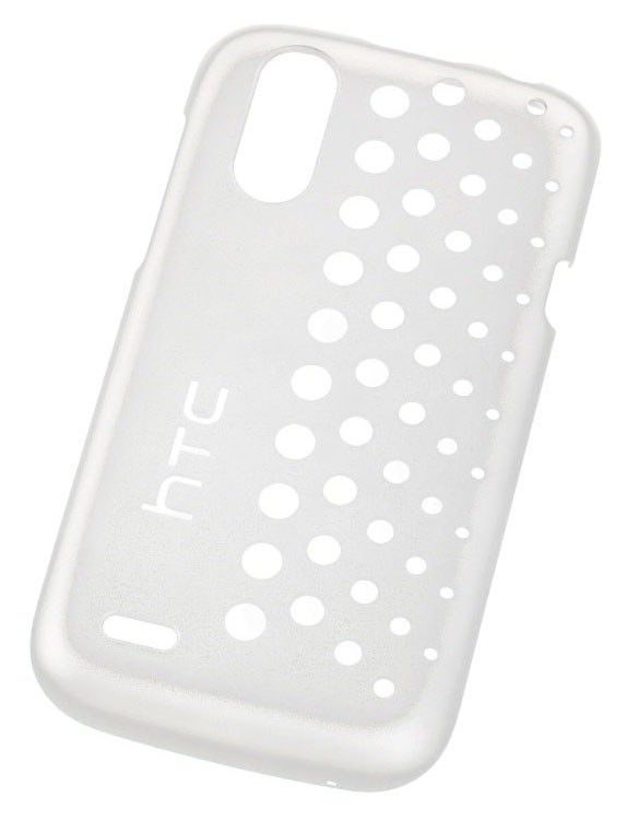 Чехол (клип-кейс) HTC HC C800, для HTC Desire X/Desire V, белый [hc c800 белый]