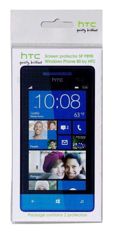 Защитная пленка HTC SP P890  для HTC 8S,  прозрачная, 2 шт [sp p890     ]