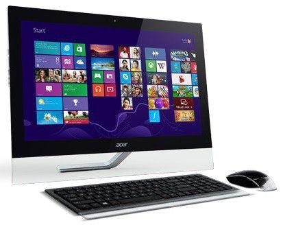 Моноблок ACER Aspire 5600U, Intel Core i3 3120M, 4Гб, 1000Гб, nVIDIA GeForce GT630M - 1024 Мб, DVD-RW, Windows 8, черный [dq.snmer.001 ]